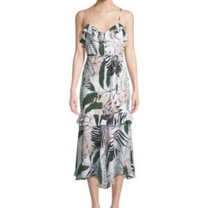 Milly brand flower dress